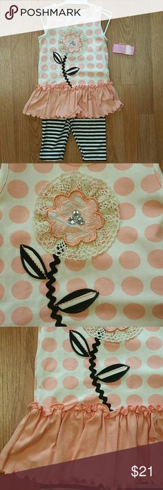 Peaches n Cream New with tags. Two piece set. Boutique brand. Peaches n Cream Matching Sets