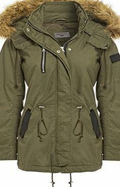 SS7 Faux Fur Hood PU Parka Coat, Khaki, Navy, Black, Sizes 8 to 16 (UK - 14, Khaki) No description (Barcode EAN = 7758163900523). http://www.comparestoreprices.co.uk/december-2016-week-1/ss7-faux-fur-hood-pu-parka-coat-khaki-navy-black-sizes-8-to-16-uk--14-khaki-.asp