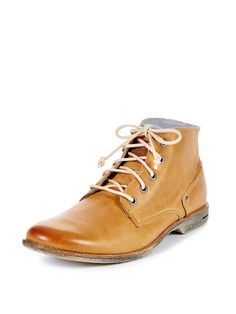 Crasher Leather Ankle Boot by Sneaky Steve at Gilt