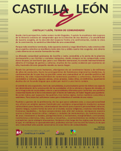"Exposición ""Castilla y León. Tierra de Comunidades"". Texto explicativo. Periodic Table, Texts, Community, Destiny, Earth, Periodic Table Chart"