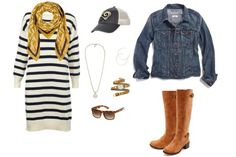 Today, the St. Louis Rams (3-3) are taking on the Carolina Panthers (2-3), so get ready for some serious football fun in this Ram-tastic game day outfit...St. Louis Rams: Game Day Fashion by Girls Love the Game #NFL #Fashion #Style #Women #Football
