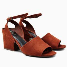 16dcf858c94 Buy Rust Wide Heel Sandals from the Next UK online shop