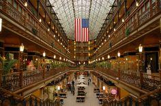 Cleveland Arcade, Cleveland. (now a hotel)