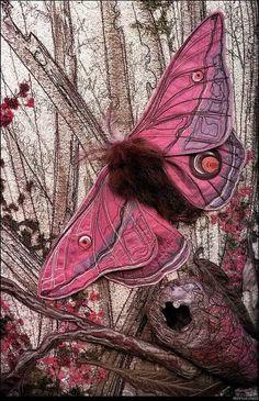 Textile art by Annemieke Mein.