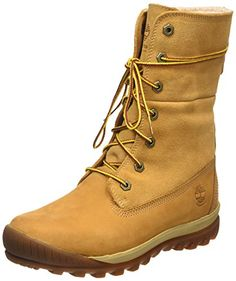 Timberland Mount Holly FTW_Woodhaven Fleece Roll Down WP INS, Damen Schneestiefel, Braun (WHEAT), 42 EU - http://on-line-kaufen.de/timberland/42-eu-timberland-mount-holly-ftw-woodhaven-fleece-2