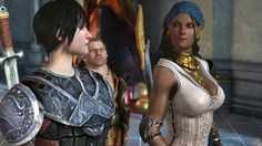 Dragon Age 2 - Isabela...  So many video game cliches wrapped up in one character, but she's still my favorite anyway.