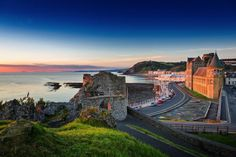 And don't forget, Wales! Explore Aberystwyth Breathtaking Places To Experience When Visiting Wales, Great Britain Greek Islands To Visit, Best Greek Islands, Beautiful Places To Visit, Places To See, Visit Wales, Aberystwyth, Beautiful Castles, Beautiful Scenery, By Train