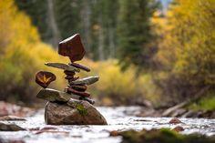 Snowmass, Snowmass Creek, Colorado, 2016 Michael Grab, Snowmass Village, Balance Art, Stone Sculptures, Cairns, Rock And Roll, Colorado, Aspen Colorado, Rock Roll