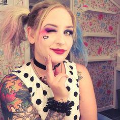 #suicidesquad #harleyquinn #harleyquinnmakeup #mua #makeup #cosplay #hair #hairdo #style #styling #nyx #nyxnordics #nyxfaceawards #nordicfaceawards