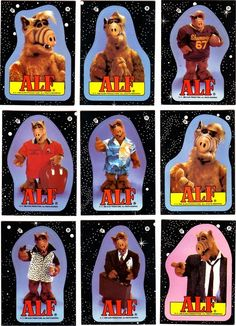 Alf..I still have an Alf doll and Alf sleeping bag.