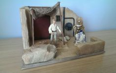images Custom Action Figures, Star Wars Collection, Stars, Dioramas, Sterne, Star