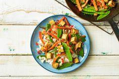 Fein asiatisch: Tofu-Gemüse-Pfanne