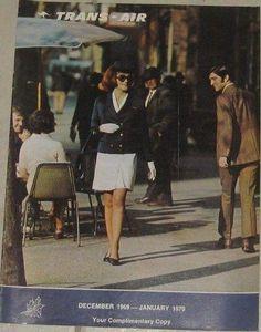 TAA Trans Australia Airlines Inflight Magazine Dec 1969 - Jan 1970