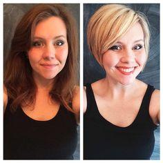 short hair makeovers
