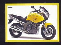 YAMAHA TDM 900 MOTORCYCLE DEALER ADVERTISING POSTCARD