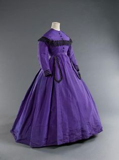 day dress, 1868