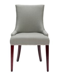 """Becca"" Linen Dining Chair at Neiman Marcus. $399"