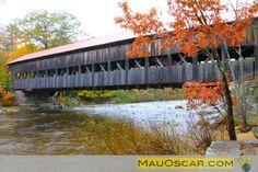 Albany Bridge Kancamagus Highway New Hampshire