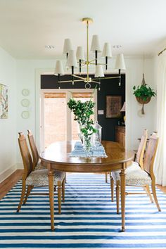 Nashville Residence - eclectic - Dining Room - New Orleans - Logan Killen Interiors