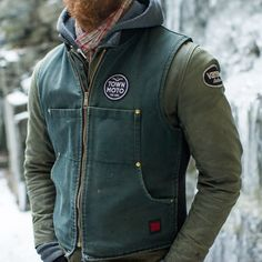 Vanson Stormer Waxed Canvas Jacket