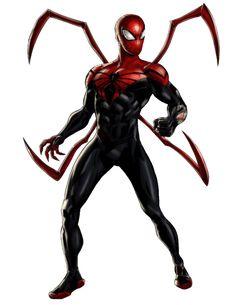 File:Superior Spider-Man Portrait Art.png
