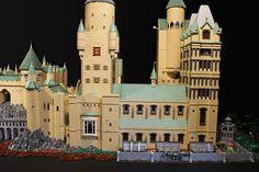 Hogwarts- far right | by Bippity Bricks