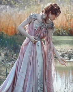 I don't know who does this sort of photo shoot but it looks like fun to wear such a fairy princess dress! Pretty Dresses, Beautiful Dresses, Mode Lolita, Fantasy Gowns, Fantasy Art, Dark Fantasy, Fantasy Outfits, Fantasy Clothes, Fairy Clothes