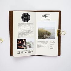 Another page from our summer travels documenting taking the train to the west coast of France.