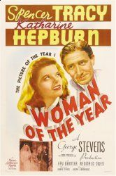 1942 Woman Of The Year, Spencer Tracey, Katherine Hepburn  (original)