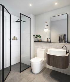 Salle de bain #decoration moderne chic