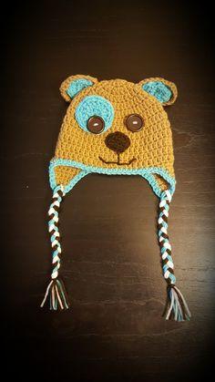 Osito al crochet - T: 3 a 6 meses