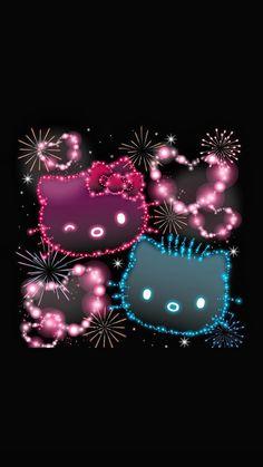 Hello Kitty Iphone Wallpaper, Hello Kitty Backgrounds, Sanrio Wallpaper, Pretty Backgrounds, Wallpaper Backgrounds, Hello Kitty Art, Hello Kitty Pictures, Hello Kitty Collection, Sanrio Characters