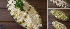 Recept Velikonoční vajíčkovo-kuřecí majonézový salát Mashed Potatoes, Cabbage, Grains, Vegetables, Ethnic Recipes, Desserts, Whipped Potatoes, Tailgate Desserts, Deserts