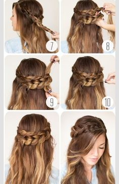Cute Wrap Around BraidPlease share and like