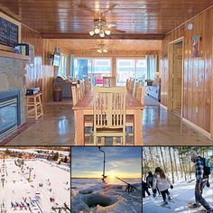 Tired of being stuck in the house? Spend your winter holidays in a cozy rental close to exciting outdoor activities in Lake Odessa, MI! This Beach Cottage offers year-round rentals near ice-fishing, sledding and skiing! #BOOKDIRECT with the owner: