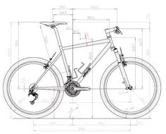 AutoCAD 2013 course for beginners Learn for free: courses, guides and manuals . Mechanical Engineering Design, Mechanical Design, Bike Draw, Autocad Isometric Drawing, Bike Sketch, 3d Sketch, Sketches, Solidworks Tutorial, Wood Bike