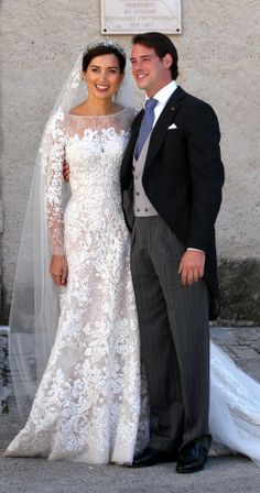 Claire Lademacher and Prince Felix of Luxembourg