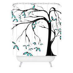 DENY Designs Madart Garden Delight Aqua Breeze Shower Curtain, 69-Inch by 72-Inch DENY Designs,http://www.amazon.com/dp/B008RWLOFS/ref=cm_sw_r_pi_dp_zD6mtb06RKR2B72H