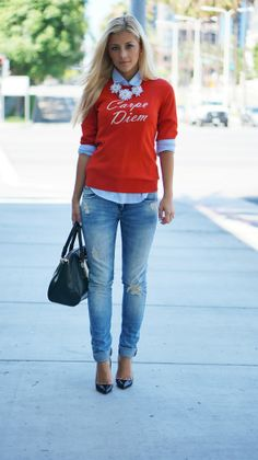 Boyfriend jeans | Evalina Barry.