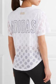 adidas Originals - Burnout Jersey T-shirt - White - xx small