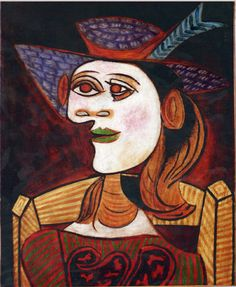 Dora Maar by Pablo Picasso | Pablo Picasso BULLFIGHT DEATH OF THE TOREADOR La corrida Painting ...