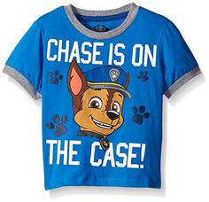 Paw Patrol Little Boys Toddler Group TShirt Blue Chase 2T * Want to know more, click on the image.Note:It is affiliate link to Amazon.