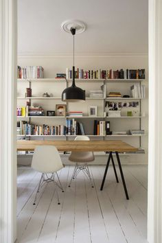 Kitchen And Dining Room Storage   A Gallery Of Vitsœu0027s 606 Universal  Shelving System, Designed By Dieter Rams.
