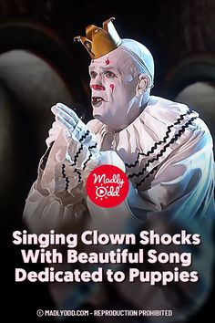 America's Got Talent: The Champions has brought many superb stars back into the limelight but few are as strange as Puddles Pity Party. The way his rich voice delivers the Foreigner ballad 'I Want To Know What Love Is' conveys feeling that confuses when compared to his clownish attire and over-the-top setup. #Puddles #AmericasGotTalent #AGTChampions #GotTalent #AGT #Foreigner #Singing Appreciate What You Have, What Is Love, Live Music, Good Music, Pity Party, Beautiful Songs, America's Got Talent, The Voice, Musicals