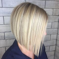 Winning Looks with Bob Haircuts for Fine Hair Blunt Blonde Bob For Straight Hair.Blunt Blonde Bob For Straight Hair. Bob Haircut For Fine Hair, Bob Hairstyles For Fine Hair, Haircuts For Fine Hair, Protective Hairstyles, Straight Haircuts, Everyday Hairstyles, Trendy Hairstyles, Blonde Blunt Bob, Blonde Bobs
