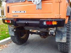 Suzuki Samurai Defiant Armor Rear Bumper by Low Range Off-Road (SRB-LR)