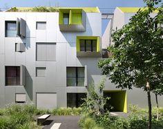 X'TU Anouk Legendre + Nicolas Desmazières, architectes Green Algae, Mansions, House Styles, Plants, Home Decor, Architects, Decoration Home, Manor Houses, Room Decor