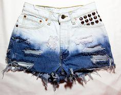 Ombre Vintage Shorts