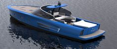 MD65 Power Yacht by Maxi Dolphin