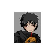 Tobi Or Madara Uchiha ❤ liked on Polyvore featuring anime and naruto